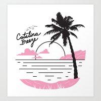 Catalina Breeze Art Print