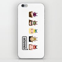 The Big Bang Theory Pixe… iPhone & iPod Skin