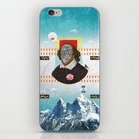 Shakespeare In Disguise iPhone & iPod Skin