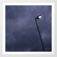 Streetlight No.2 Art Print