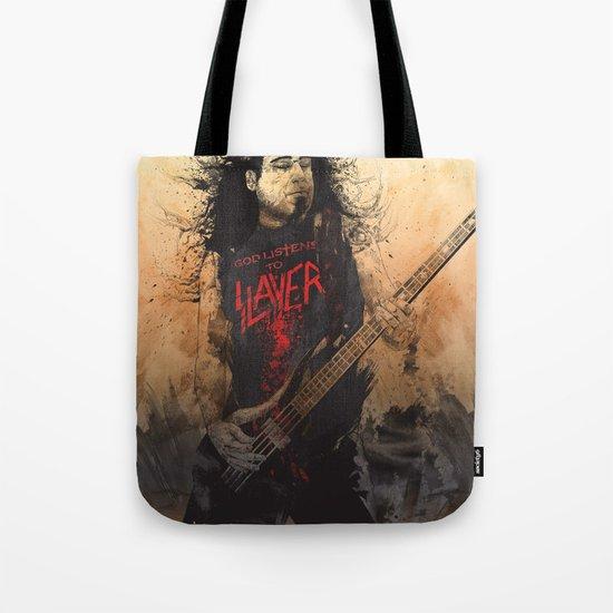 Tom Araya Tote Bag
