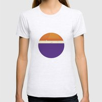 Roundy Womens Fitted Tee Ash Grey SMALL