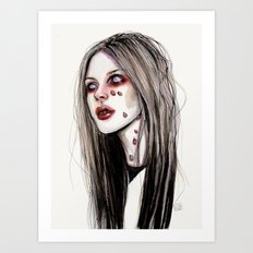 Avril - Under my skin Art Print