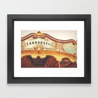 Carrousel Framed Art Print