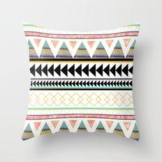 Aztec 3 Throw Pillow