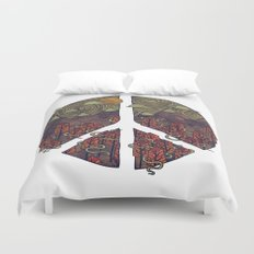 Peaceful Landscape Duvet Cover