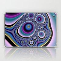 abstract cirles Laptop & iPad Skin