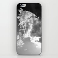 Dark Above iPhone & iPod Skin