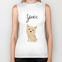 Yorkie - Cute Dog Series Biker Tank