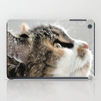>^..^< .... In The Snow iPad Case