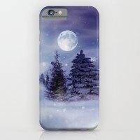 iPhone & iPod Case featuring Winter Night by Elena Indolfi