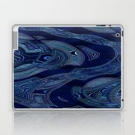 Geometric Water Laptop & iPad Skin