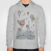Voyages Over Paris Hoody