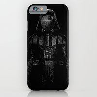 iPhone Cases featuring Darth Magritte by Billy Allison