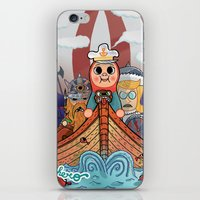 My dangerous Friends. (Vikings) iPhone & iPod Skin