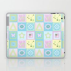 Delicate shades of baby pattern. Laptop & iPad Skin