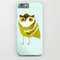 Golden Owl illustration  iPhone 6 Slim Case