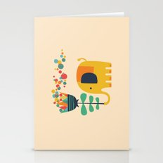 Elephant With Giant Flow… Stationery Cards