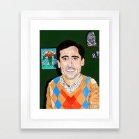 The 40 Year Old Virgin Framed Art Print