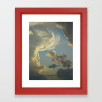 Beauty In The Sky Framed Art Print