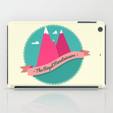 The Royal Mountaineers iPad Case