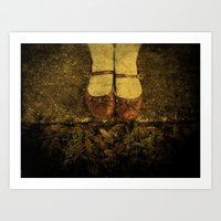 Where The Sidewalk Ends Art Print