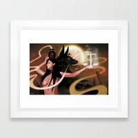 Spirit Of Anubis Framed Art Print