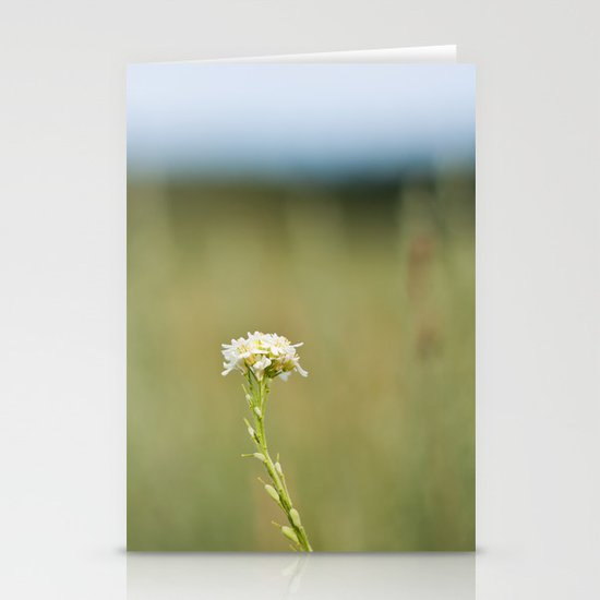 Flower in the Field Stationery Card