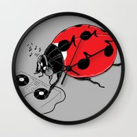 DJ BeatLE  Wall Clock