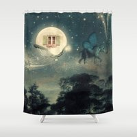 Moon Dream Shower Curtain