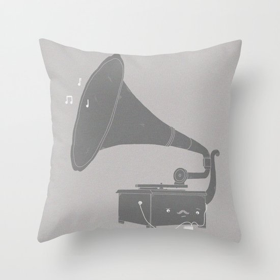 Get with the times Throw Pillow
