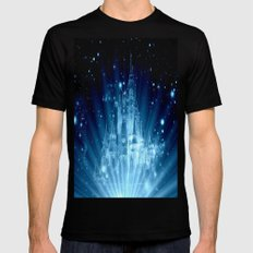 Magical Castle Mens Fitted Tee Black SMALL