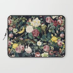 Floral and Birds IV Laptop Sleeve
