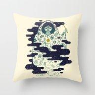 The Magician: Enchantmen… Throw Pillow