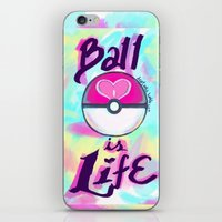 Pokeball is Life iPhone & iPod Skin