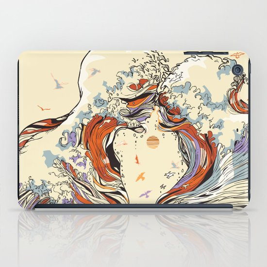 The Wave of Love iPad Case