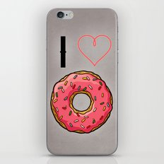 I love donut iPhone & iPod Skin