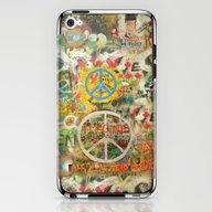 Peace Sign - Love - Graf… iPhone & iPod Skin