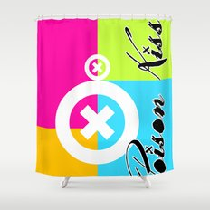 POISON KISS - COLORS EDITION Shower Curtain