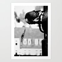 THIRSTY Art Print