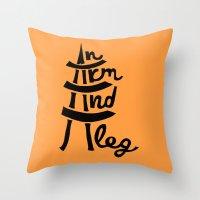 An Arm And A Leg Throw Pillow