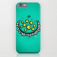 FUNNY EYEBALLS iPhone 6 Slim Case
