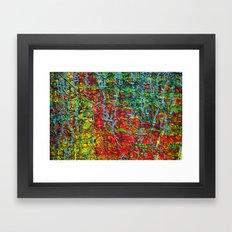 caulk Framed Art Print