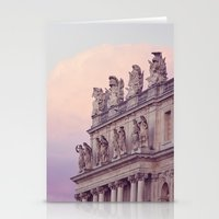 Sunset At Versailles Stationery Cards