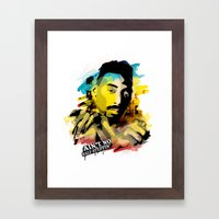 Big Daddy Kane Framed Art Print