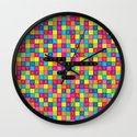 Wordsearch Love: Happy Birthday To You Wall Clock