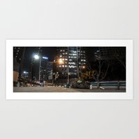 Homeless On 6th Art Print