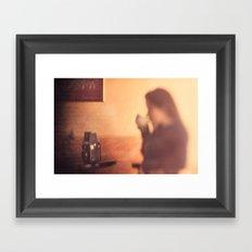 After You Left... Framed Art Print