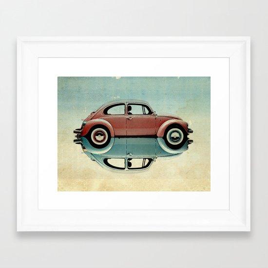 love bug Framed Art Print