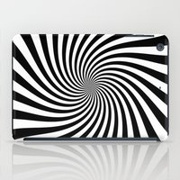 Swirl (Black/White) iPad Case